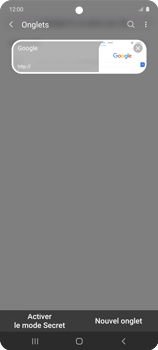 Samsung Galaxy A51 5G - Internet et connexion - Naviguer sur internet - Étape 19