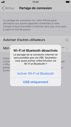 Apple iPhone SE (2020) - iOS 14 - WiFi - Comment activer un point d'accès WiFi - Étape 7
