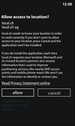Nokia Lumia 800 / Lumia 900 - Applications - Installing applications - Step 9