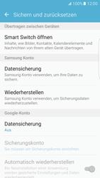Samsung Galaxy S7 Edge - Gerät - Zurücksetzen auf die Werkseinstellungen - Schritt 5