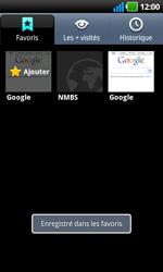 LG P970 Optimus Black - Internet - navigation sur Internet - Étape 10