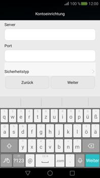 Huawei Mate S - E-Mail - Konto einrichten - Schritt 9
