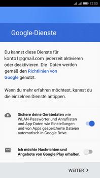 Huawei Mate 9 Pro - Apps - Konto anlegen und einrichten - Schritt 16