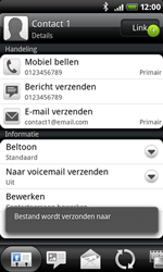 HTC A8181 Desire - contacten, foto