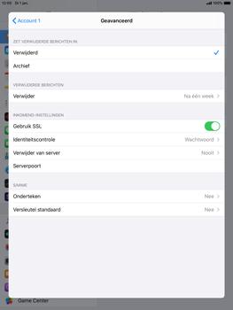 Apple ipad-air-2-met-ipados-13-model-a1567 - E-mail - Handmatig instellen - Stap 23