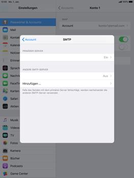 Apple iPad mini 3 - E-Mail - Konto einrichten - 19 / 30
