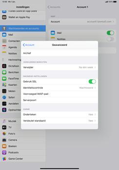 Apple iPad Pro 11 inch 2nd generation (2020) (Model A2230) - E-mail - Instellingen KPNMail controleren - Stap 22