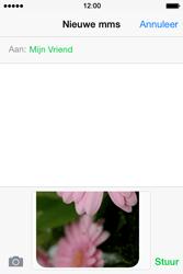 Apple iPhone 4S iOS 8 - MMS - hoe te versturen - Stap 12