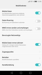 Huawei P9 - Ausland - Im Ausland surfen – Datenroaming - Schritt 8