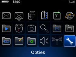 BlackBerry 9700 Bold - Instellingen - ontvangen via SMS - Stap 3