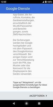 Sony Xperia XZ2 - Android Pie - Apps - Konto anlegen und einrichten - Schritt 20