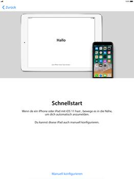 Apple iPad Pro 12.9 inch - iOS 11 - Persönliche Einstellungen von einem alten iPhone übertragen - 9 / 29