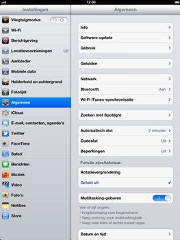 Apple The New iPad - Bellen - in het buitenland - Stap 3