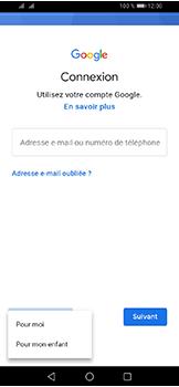Huawei Y6 (2019) - Applications - Créer un compte - Étape 5