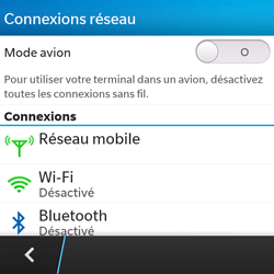 BlackBerry Q5 - Internet - configuration manuelle - Étape 6