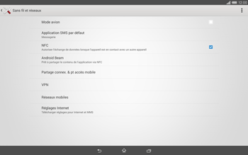 Sony Xperia Tablet Z2 LTE - MMS - Configuration manuelle - Étape 5
