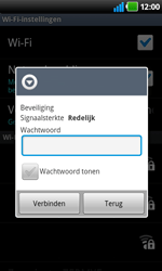 LG P920 Optimus 3D Speed - wifi - handmatig instellen - stap 8