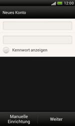HTC T328e Desire X - E-Mail - Konto einrichten - Schritt 6
