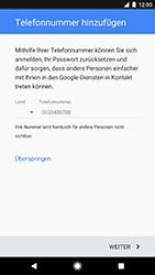 Google Pixel - Apps - Konto anlegen und einrichten - 1 / 1