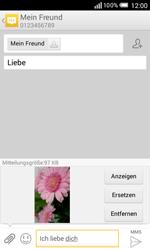 Alcatel OT-5050X Pop S3 - MMS - Erstellen und senden - Schritt 19