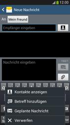 Samsung Galaxy S4 Mini LTE - MMS - Erstellen und senden - 12 / 24