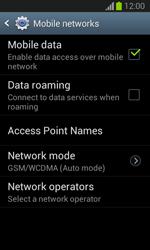 Samsung S7390 Galaxy Trend Lite - Network - Change networkmode - Step 7