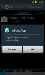 Samsung Galaxy Trend Lite - Applications - Comment désinstaller une application - Étape 7