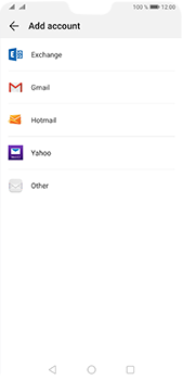 Huawei P20 Pro - Android Pie - E-mail - 032b. Email wizard - Yahoo - Step 4