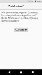 Sony Xperia XA2 - Fehlerbehebung - Handy zurücksetzen - 10 / 12
