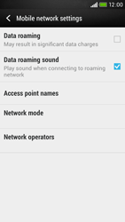 HTC Desire 601 - Internet - Usage across the border - Step 6