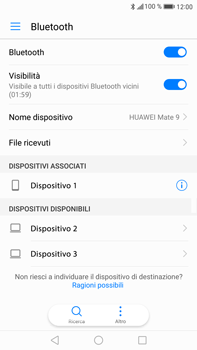 Huawei Mate 9 - Bluetooth - Collegamento dei dispositivi - Fase 7