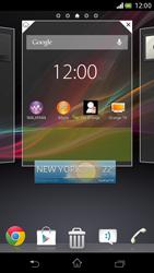 Sony Xperia V - Startanleitung - Installieren von Widgets und Apps auf der Startseite - Schritt 5