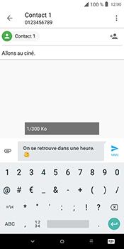 Alcatel 3L - Contact, Appels, SMS/MMS - Envoyer un MMS - Étape 14