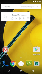 Motorola Moto E (1st Gen) (Lollipop) - Applications - Personnaliser l