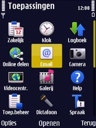 Nokia N86 - E-mail - Handmatig instellen - Stap 4