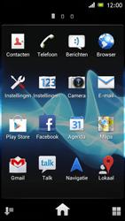 Sony ST26i Xperia J - e-mail - hoe te versturen - stap 3