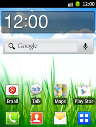 Samsung Galaxy Pocket - Getting started - Installing widgets and applications on your start screen - Step 1