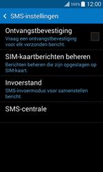 Samsung G355 Galaxy Core 2 - SMS - handmatig instellen - Stap 7
