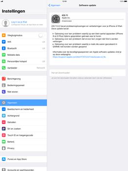 Apple iPad Pro 12.9 (1st gen) - iOS 11 - Software updaten - Update installeren - Stap 5