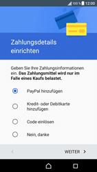 Sony Xperia XA - Apps - Einrichten des App Stores - Schritt 18