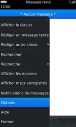 BlackBerry 9860 Torch - SMS - configuration manuelle - Étape 5