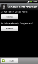 HTC A9191 Desire HD - Apps - Konto anlegen und einrichten - Schritt 5