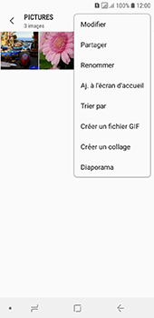 Samsung Galaxy A6 - Photos, vidéos, musique - Envoyer une photo via Bluetooth - Étape 7