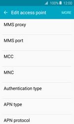 Samsung J120 Galaxy J1 (2016) - MMS - Manual configuration - Step 9