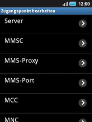 Samsung Galaxy Mini - MMS - Manuelle Konfiguration - 11 / 17
