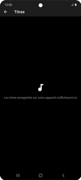 Samsung Galaxy A51 5G - Photos, vidéos, musique - Ecouter de la musique - Étape 8