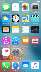 Apple iPhone SE - SMS - Manual configuration - Step 2