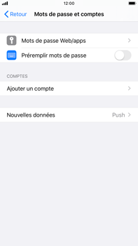 Apple iPhone 8 Plus - iOS 13 - E-mail - configuration manuelle - Étape 4