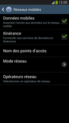 Samsung Galaxy S 4 Active - Internet et roaming de données - Désactivation du roaming de données - Étape 6