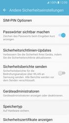 Samsung Galaxy S7 - Datenschutz und Sicherheit - PIN-Code der SIM-Karte ändern - 0 / 0